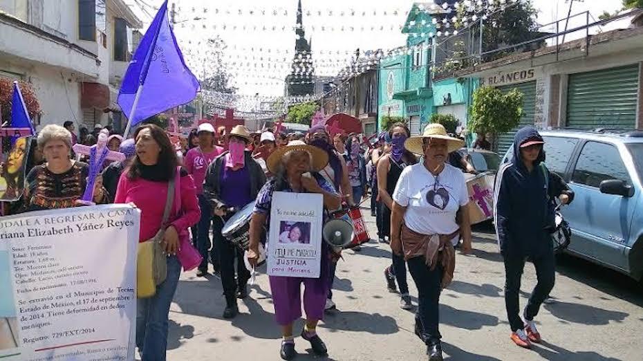 DENUNCIAN ATENTADO CONTRA HIJA DE ACTIVISTA IRINEA BUENDÍA (Ciudad de México)