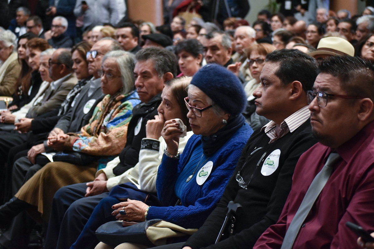 Pensionados piden castigo a funcionarios de Veracruz que los reprimieron en 2015