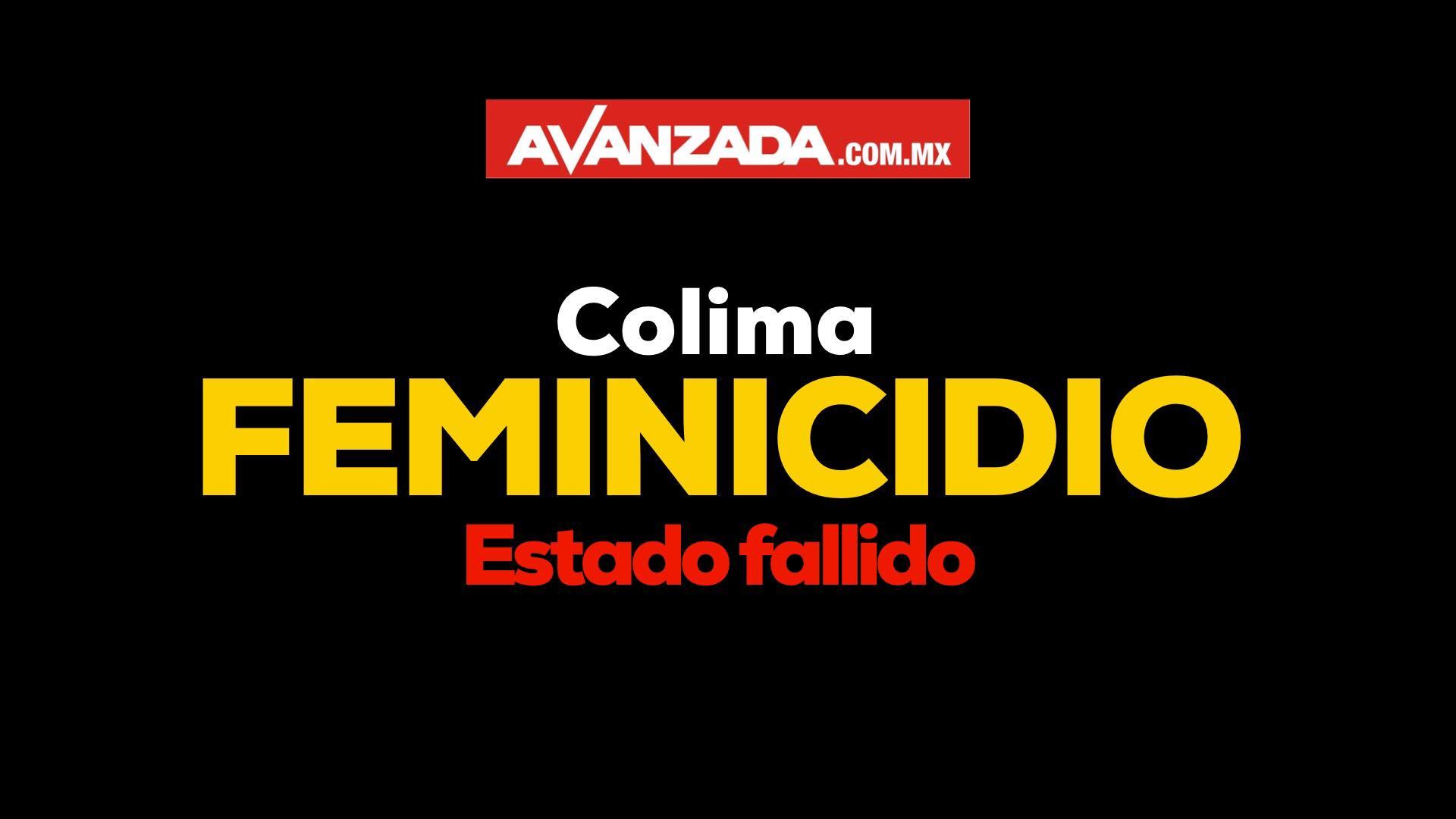 Colima primer lugar nacional en asesinato de mujeres