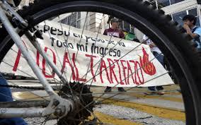 """Pasajeros alistan III Jornada contra el """"tarifazo"""" en el Edomex"""