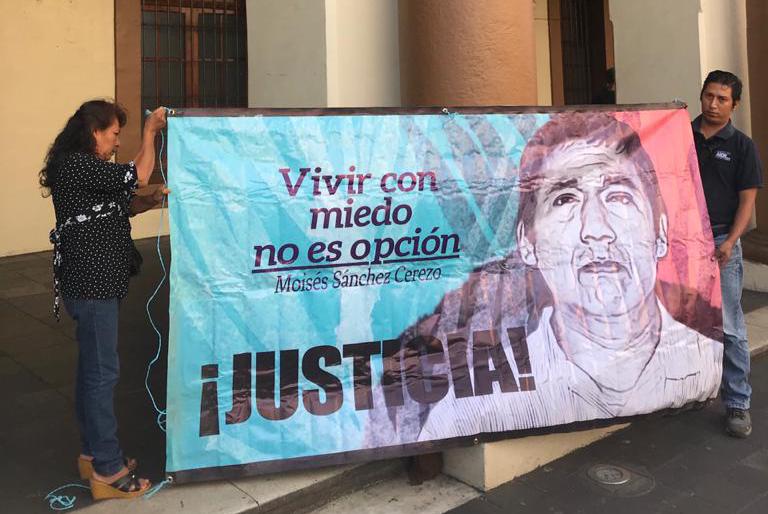 """""""No hay impartición de justicia en Veracruz"""": hijo de periodista asesinado en 2015"""