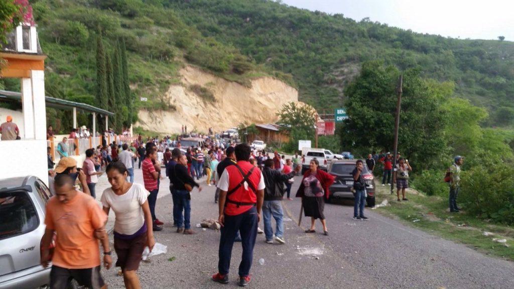 Denuncian represión a comunidades desplazadas de Chichihualco  (Guerrero)