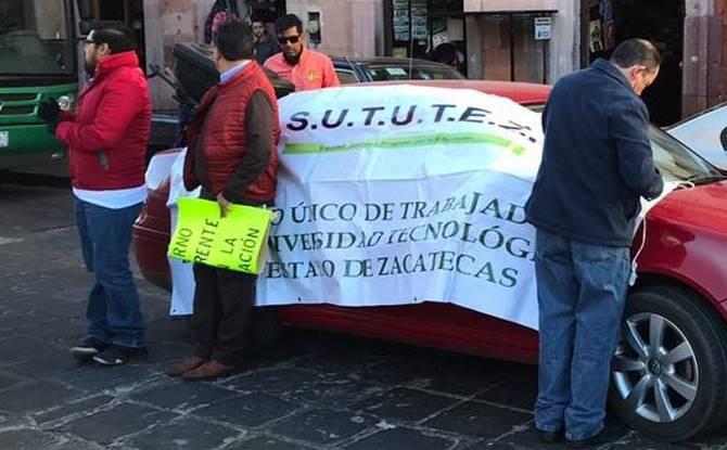 Subsistemas educativos protestan por reducción a presupuesto (Zacatecas)