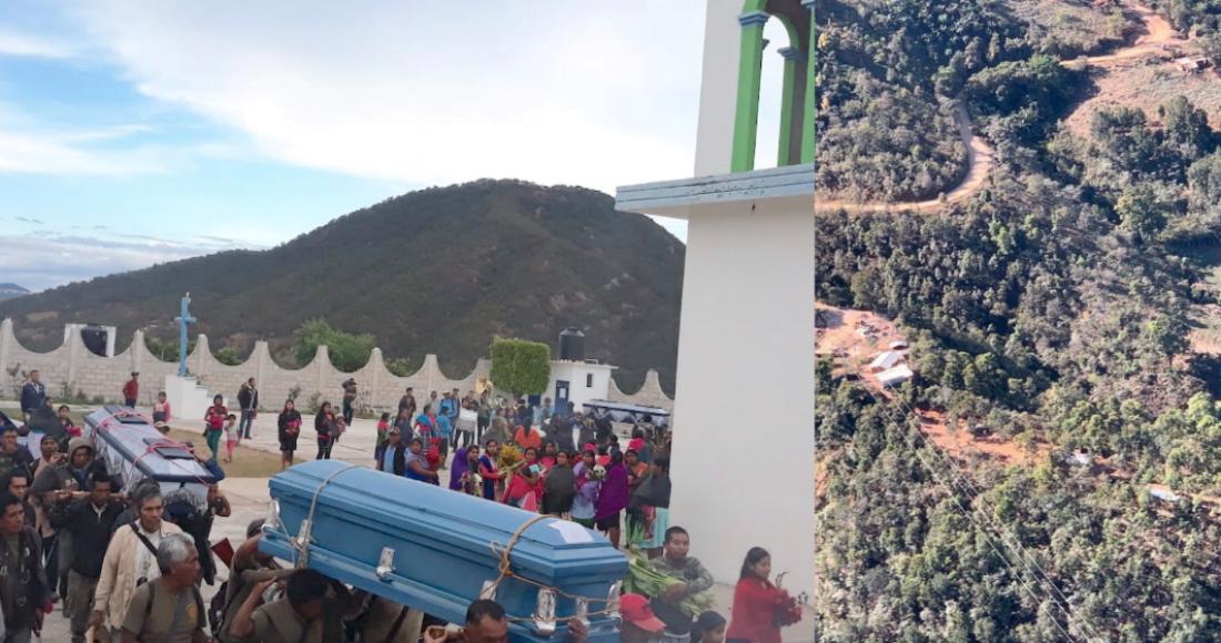 Bloqueos y reclamos por los 10 músicos indígenas asesinados. ¿Y la Guardia Nacional?, preguntan (Guerrero)