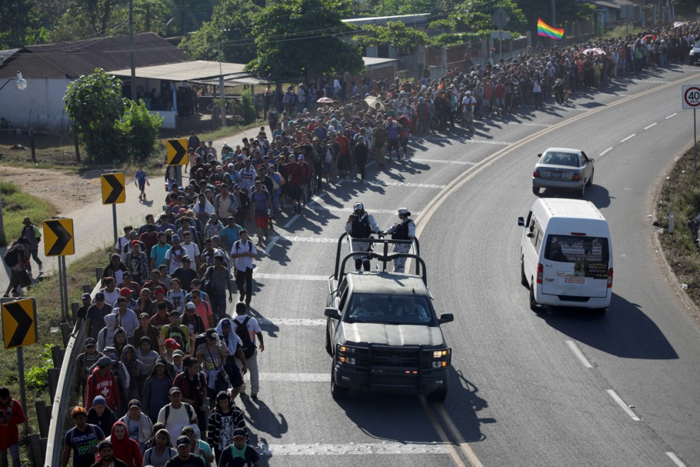 México hace la campaña a Donald Trump en materia migratoria
