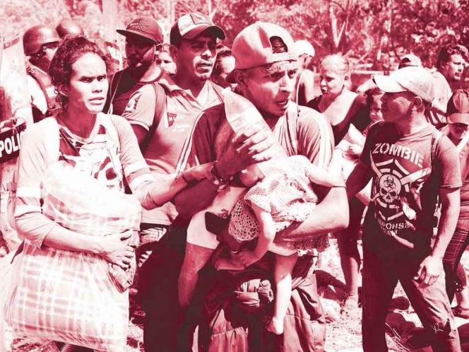 """Invisibles""; medio millón de migrantes rebotan por México  (Guanajuato)"