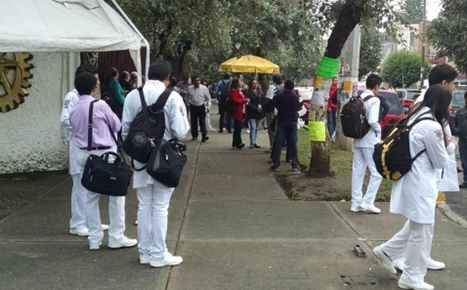 Continúa paro en tres escuelas del IPN (Ciudad de México)