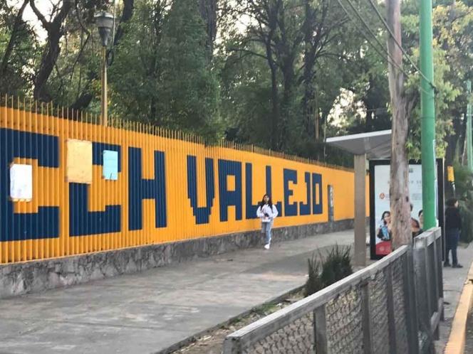 Entregan CCH Vallejo tras dos días de paro (Ciudad de México)