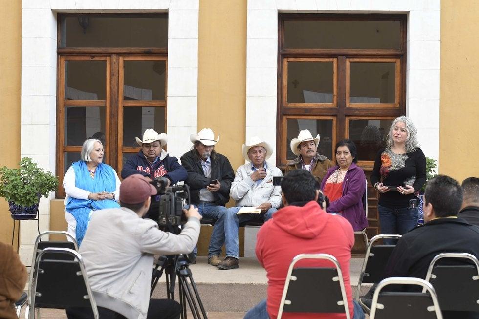 Campesinos exponen lucha contra injusticias (Coahuila)