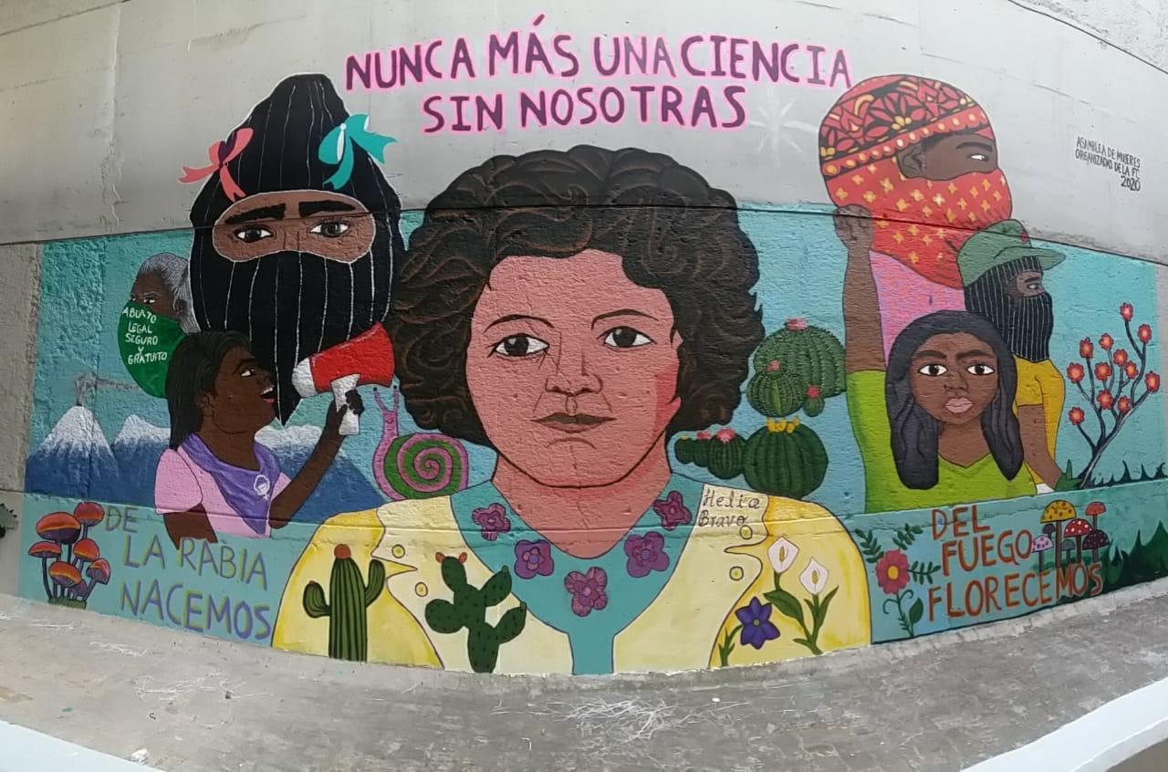 """""""Nunca más una ciencia sin nosotras"""": Asamblea de Mujeres Organizadas de la Facultad de  Ciencias de la UNAM"""
