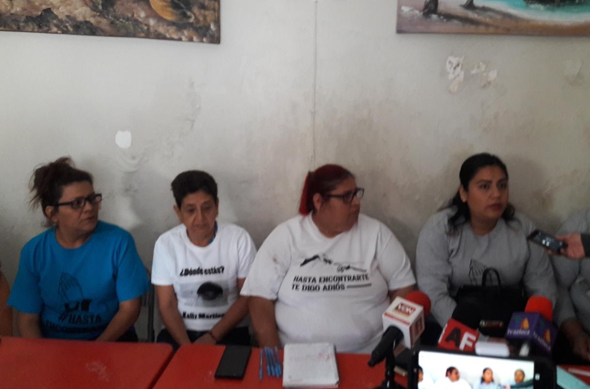 Estamos solos, familiares de desaparecidos en Colima