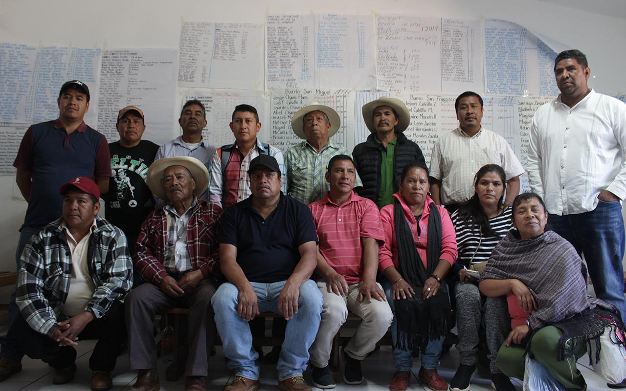 La rebelión de los purépechas  (Michoacán)