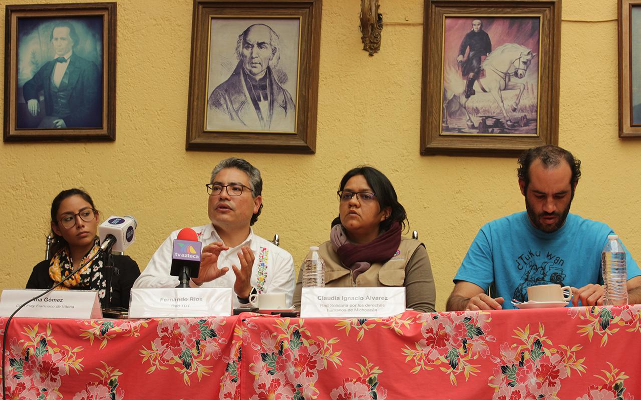 El gobierno de Michoacán quiere detener autonomía en municipios indígenas