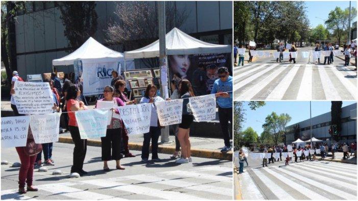Por violaciones a su contrato, trabajadores de la Facultad de Economía realizaron bloqueo (Ciudad de México)