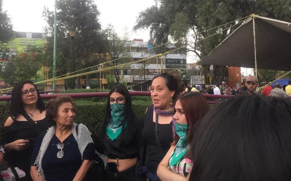 Protestan contra el manejo amarillista del caso Ingrid Escamilla (Estado de México)