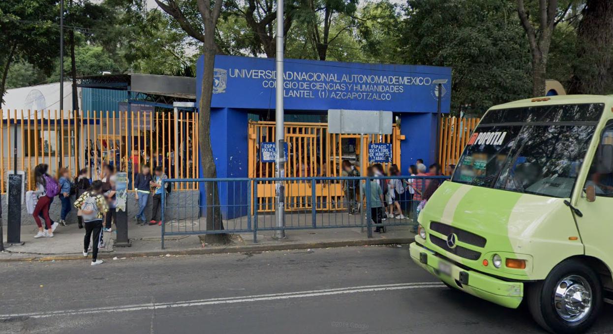Atacan a alumna del CCH Azcapotzalco en un baño de la escuela (Ciudad de México)