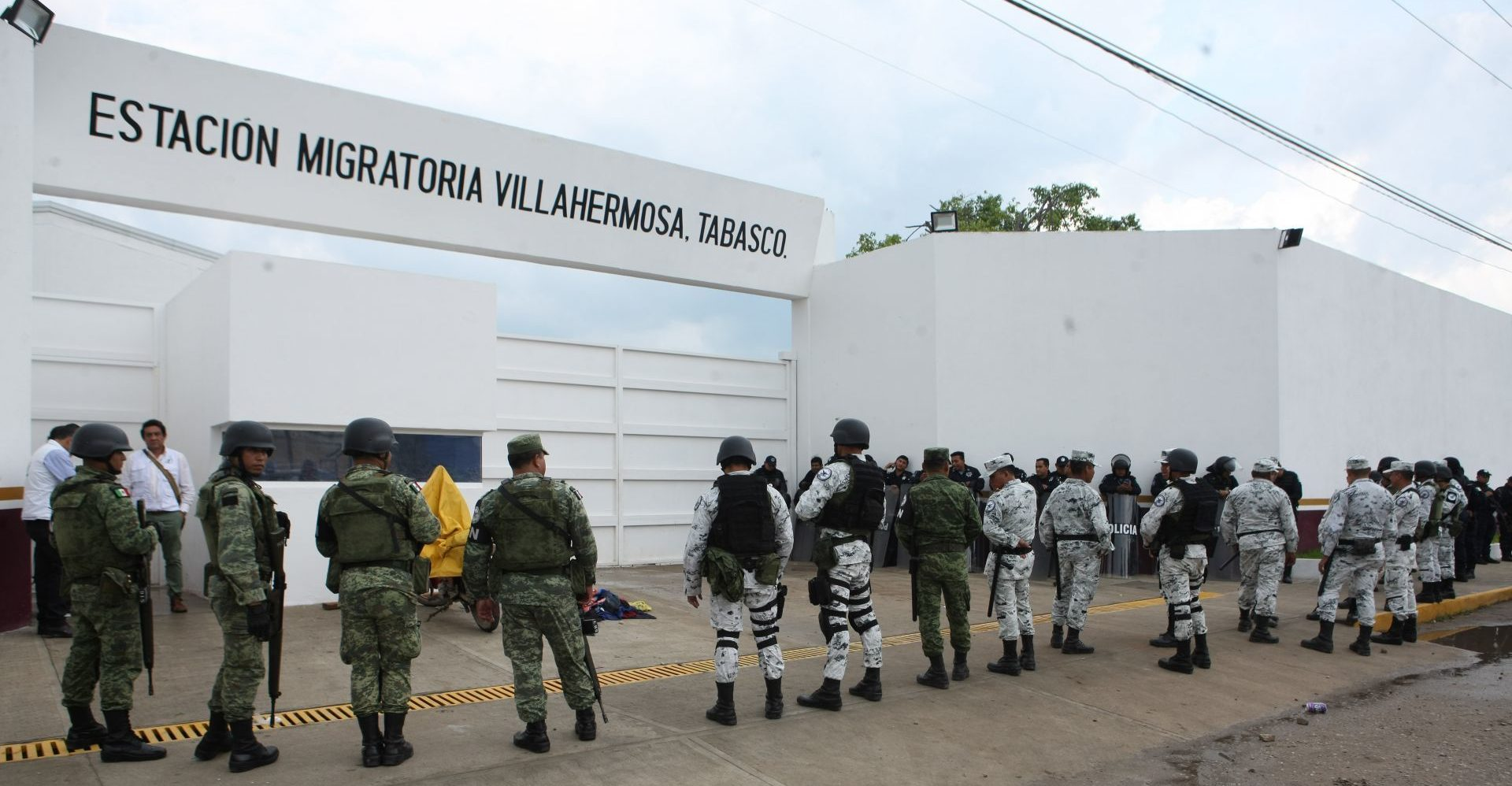 CNDH investiga denuncias por maltrato y descargas eléctricas contra migrantes en Tabasco