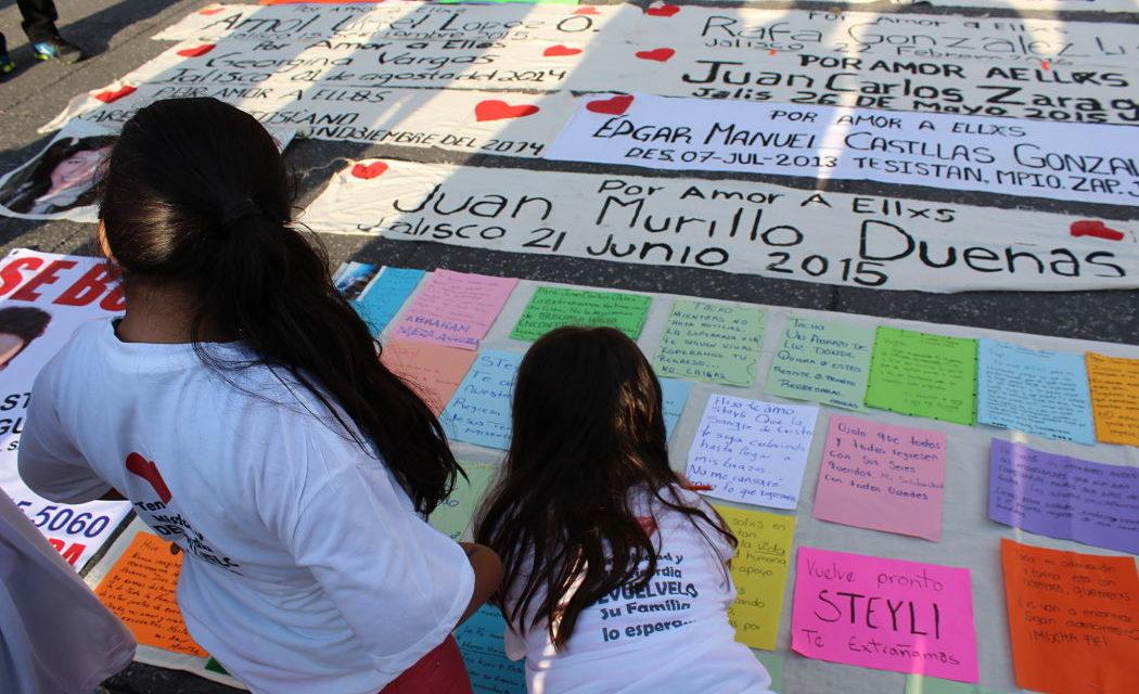 976 niñas y niños están actualmente desaparecidos en Jalisco