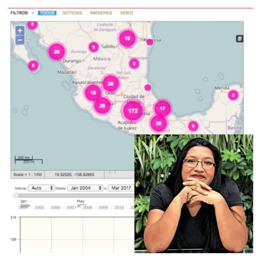 """Colima vive """"un coctel de violencia"""" y el abandono de la autoridad: María Salguero"""