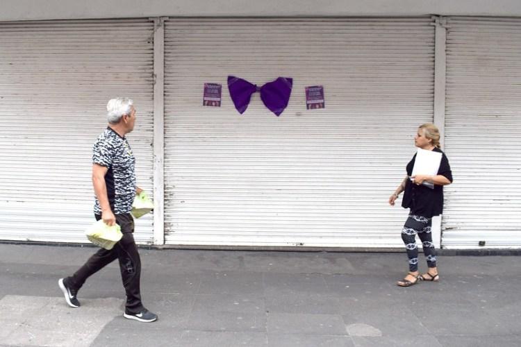 EL NUEVE NADIE SE MOVIÓ, LA PROTESTA EN AGUASCALIENTES