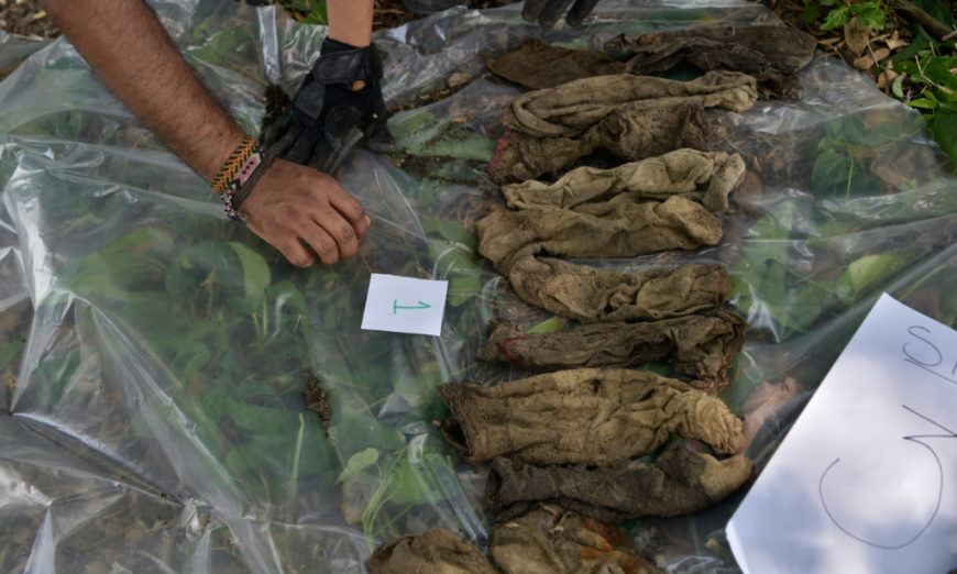 Fueron en busca de trabajo… y desaparecieron masivamente en el norte de Veracruz
