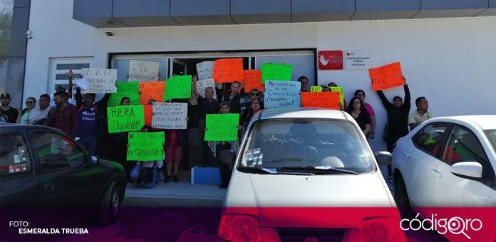 Presentan vecinos de La Pradera queja ante la DDHQ (Querétaro)