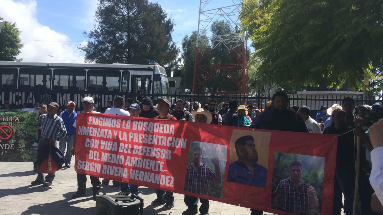 Denuncian fallas e irregularidades en el juicio por desaparición de Sergio Rivera (Puebla)