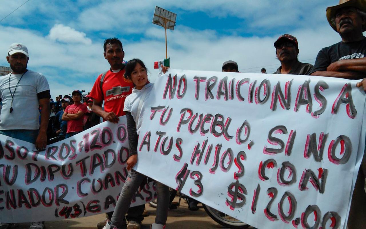 Los compromisos incumplidos a los jornaleros de San Quintín (Baja California)