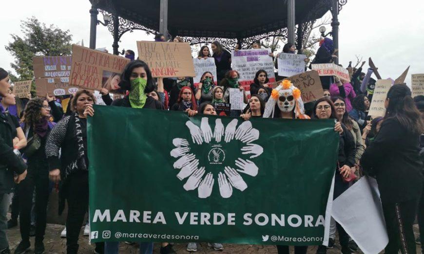 Feministas de Sonora denuncian acoso, amenazas y agresiones físicas tras movilizaciones