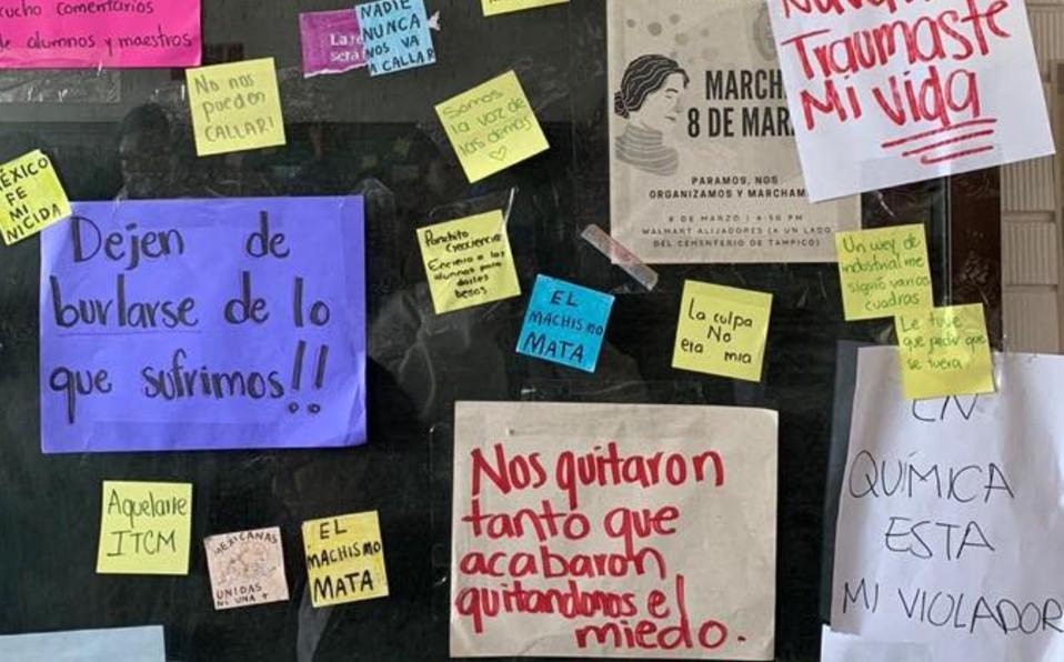 Exhiben tendederos de denuncias en escuelas de Tamaulipas