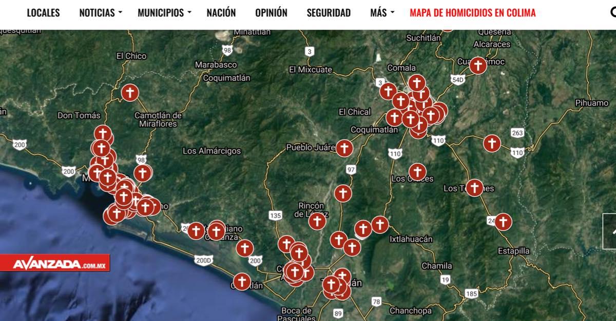 Asesinan a 28 personas en Colima en 15 días