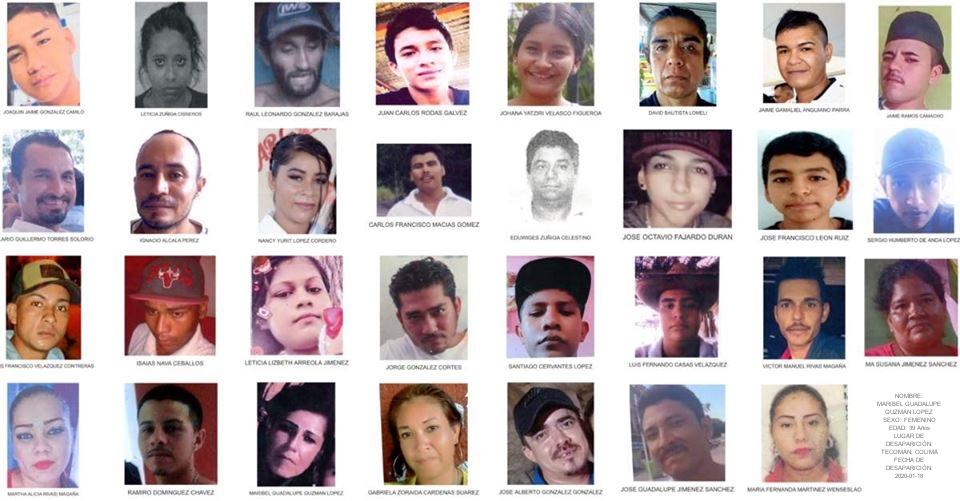 Red Desaparecidos en Colima denuncian falta de apoyo, fiscalía reporta 26 personas desaparecidas