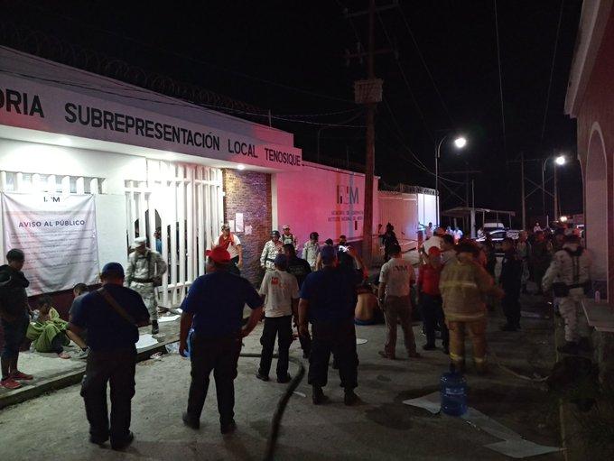 Los migrantes en México piden acciones ante el riesgo de contagio de coronavirus (Tabasco)