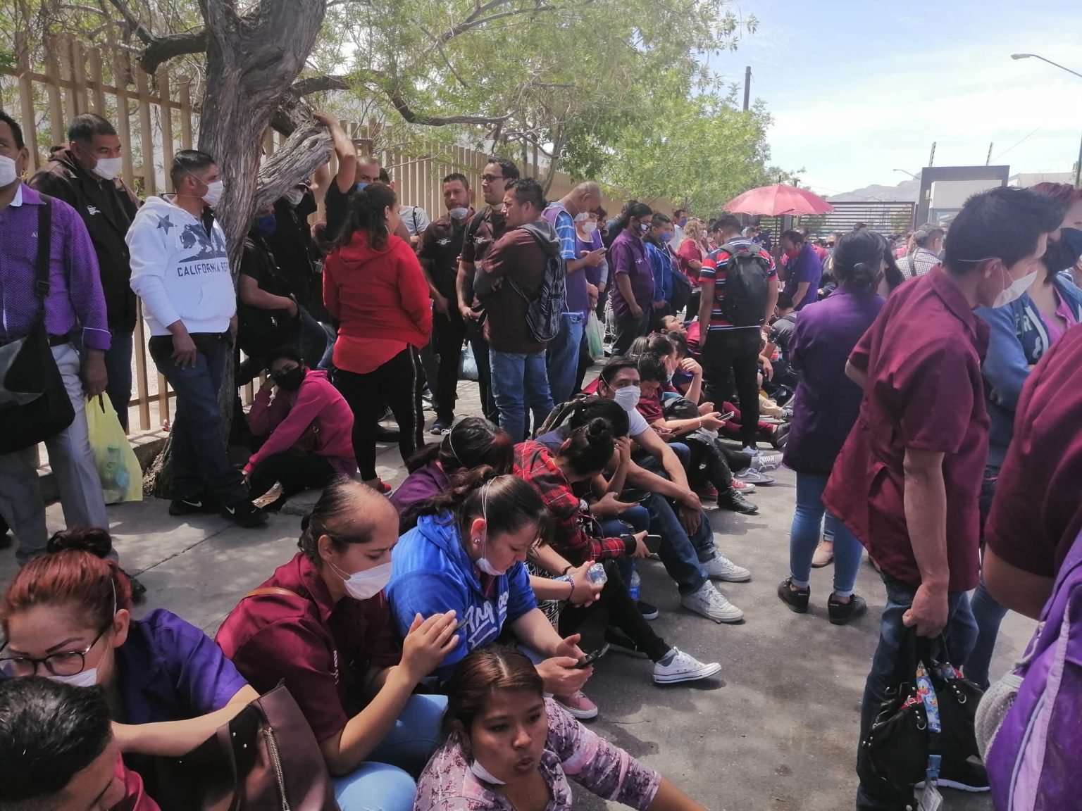 Suman cuatro brotes de COVID-19 en maquilas; obligan el cierre de 14 empresas (Ciudad Juárez)