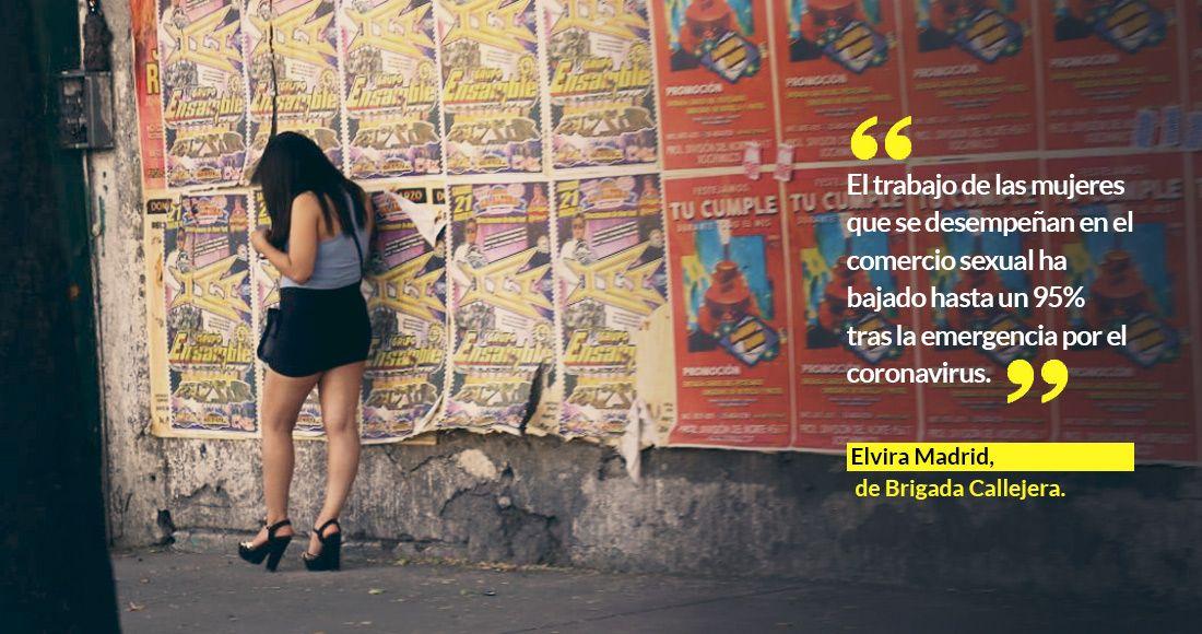 ¿Quién protege a trabajadoras sexuales? El COVID-19 las dejó en la calle y enfermas. Piden ayuda (Ciudad de México)