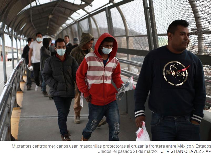 Con o sin pandemia: a los migrantes solo les queda el monte (Tabasco)