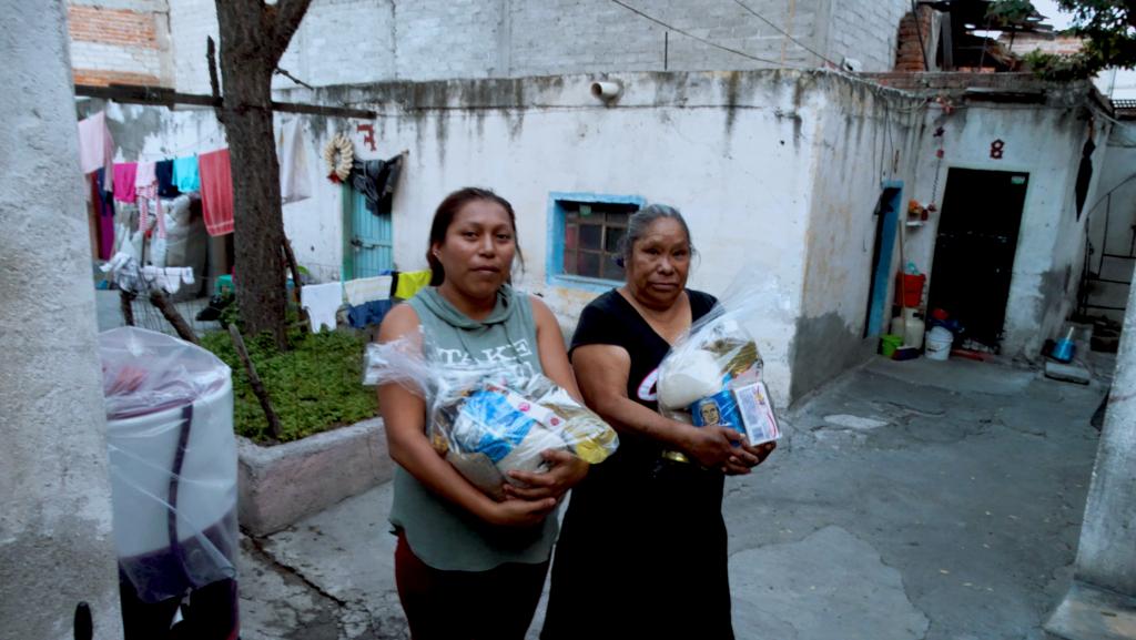 VECINAS Y VECINOS DE SAN FRANCISQUITO SE ORGANIZAN PARA TEJER REDES DE SOLIDARIDAD DURANTE LA CUARENTENA (Querétaro)
