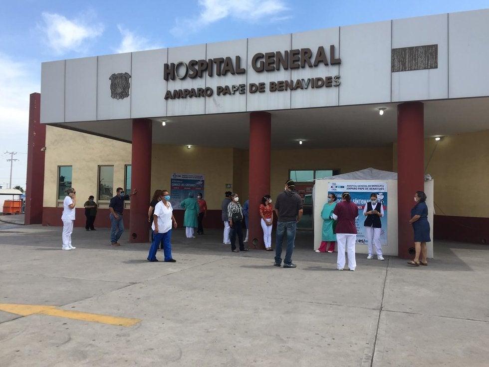 Piden enfermeros de Hospital General de Monclova se les realicen pruebas de COVID-19 (Coahuila)