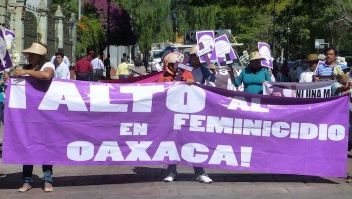 Suman 419 mujeres asesinadas en Oaxaca