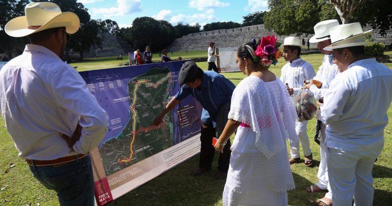 El Tren Maya va pese a amparo y rechazo indígena, que alerta por daño ambiental y el coronavirus