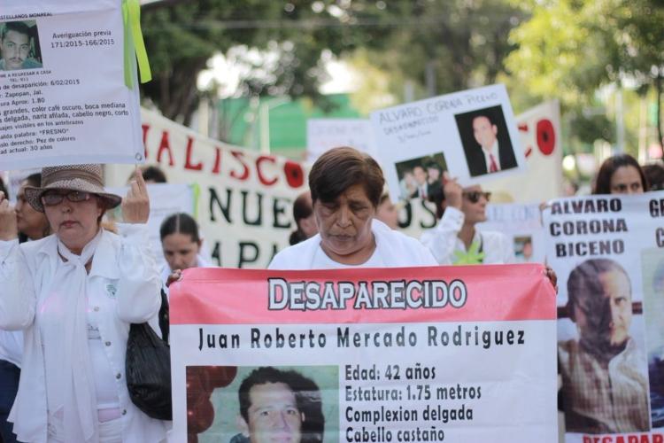 Ejecutivo, sin interés en los desaparecidos (Jalisco)