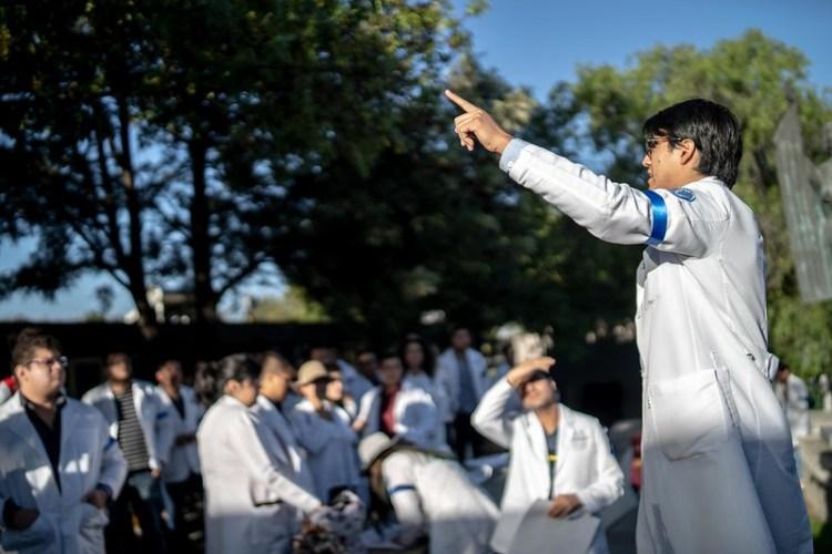 MÉDICOS DE PREGRADO EN AGUASCALIENTES PIDEN REVALORACIÓN DE SU REGRESO A LOS HOSPITALES ANTE PANDEMIA POR COVID-19