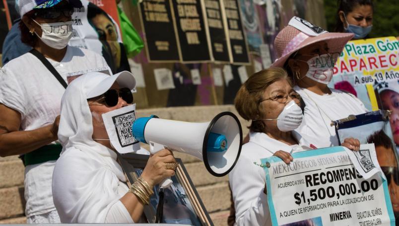 Con marcha virtual y en CDMX, madres protestaron por sus desaparecidos este 10 de mayo