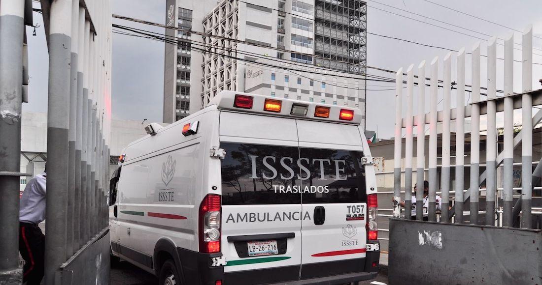 La morgue del ISSSTE Zaragoza se satura y rentan tráiler. Deudos tardan en llevarse cuerpos (Ciudad de México)