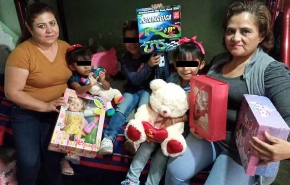 Los hijos de víctimas de feminicidio festejan un Día del Niño esperando justicia por la muerte de sus madres