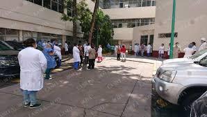 Personal del Rubén Leñero protesta en el hospital; Sedesa lo niega (Ciudad de México)