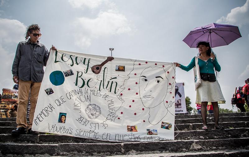 Tercer aniversario luctuoso de Lesvy y no hay sentencia definitiva (Ciudad de México)