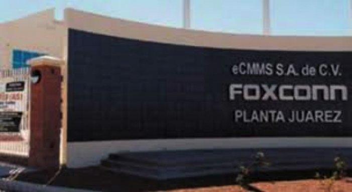 """Foxconn de Cd. Juárez """"sabe muy bien que hay gente enferma de Covid-19 y sigue laborando"""""""