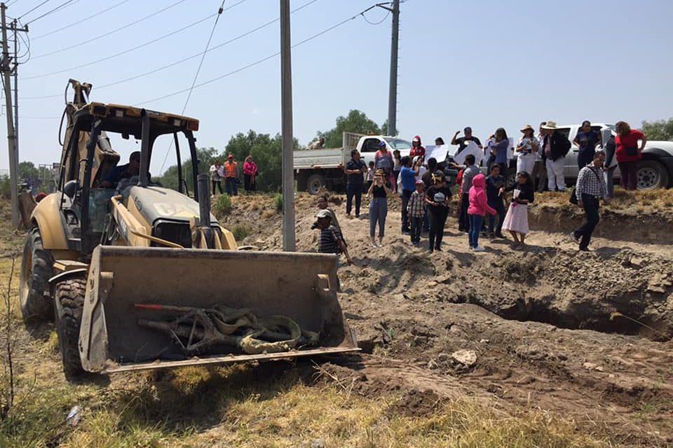 Un año después: indígenas de San Juan de la Laguna en lagos de moreno, resisten a la imposición de gasoducto (Jalisco)