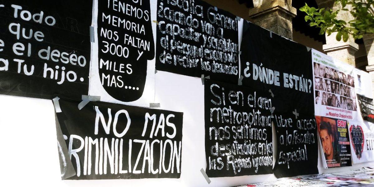 """Plan de austeridad y """"reactivación económica"""" por covid-19 en Jalisco contempla reducción de presupuesto a fiscalía de desaparecidos"""